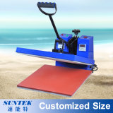 Flat Clamshell Sublimation Transfer Heat Press for Fabric Printing