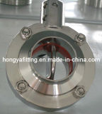 Sanitary Butterfly Valve with Welding/Clamped/Threaded End