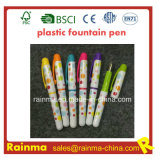 Color Plastic Fountain Pen with Nice Color