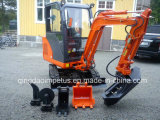 Mini Crawler Excavator with Different Attachments