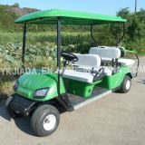 6 Seat Electric Power Sightseeing Golf Car with 2 Back Seat (JD-GE502B)