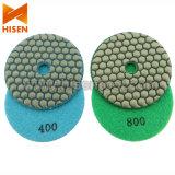 "4"" 100mm Diamond Dry Flexible Polishing Pads"