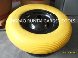 Hot Sale 16 Inch Durable Flat Free Wheel (4.00-8)