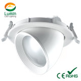 European Style Commercial 35W COB Rotatable LED Downlight