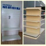 Supermarket Perforated Advertising Shelf Shelving