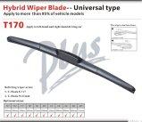 Hybrid Wiper Blade U-Hook Wiper Arms