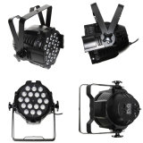 White or Black 18*10W RGBW 4in1 or Rgbwau 6in1 Aluminum Stage Wedding LED PAR Light