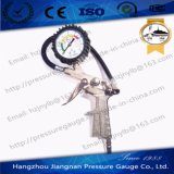 60mm 1.6MPa Silver Tire Pressure Gauge