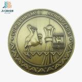 Antique Bronze Custom 3D Souvenir Coin Medallion in Metal Crafts
