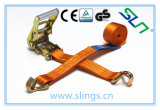 Ratchet Tie Down Strap with Hooks (SLN RS03) Ce GS