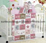 Comforter Set for Baby 4 PCS 1PC Comforter 1PC Pillow Case 2PCS Bolster
