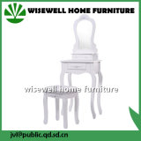 Modern Wood Furniture Dressing Table with Stool (W-HY-025)