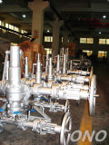 Spring-Loaded Safety Valve Stainless Steel Relief Valves