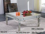 Coffer Table with Antique Mirror