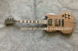 Pearl White Trapezoid Inlay Zebrawood Sg Electric Guitar