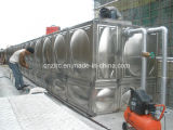 Stainless Steel Water Container FRP Water Treatment Plant