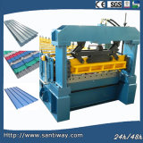 Factory Roof Tile Cold Roll Forming Machine for Sale
