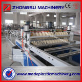 1030mm Width of PVC Corrugated Roofing Sheet Extruder Machine