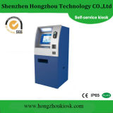 Touch Screen Automatic Cash Banknote Payment Kiosk with POS Terminal