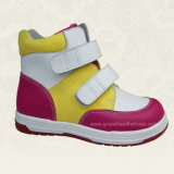 Action Leather Bright Design Students / School Shoes Children Comfort Boots