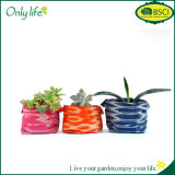 Onlylife Factory Customized Fabric Planter Flower Pot Cver