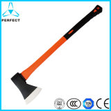 Double Color Plastic-Coating Fiberglass Handle Hatchet