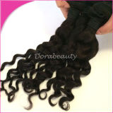 Brazilian Hair Weft Loose Curl Remy Human Hair