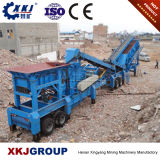 Best Price Tire Type PE 250*400 Mobile Jaw Crusher Station for Sale