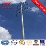 High Voltage Hot Roll Steel Transmission Poles