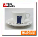 Strengthen Porcelain Lavazza Cup and Saucer of Bd001