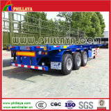 Skeletal 40FT Container Truck Chassis for Semi Trailer