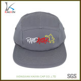 Custom Plain Cotton Embroidered 5 Panel Hat