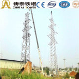 Steel Frame Electrical Power Transmission Tower