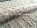 Melange Yarn-Dyed T/R/Sp 78/20/2 Jacquard Thicken Knitting Fabric