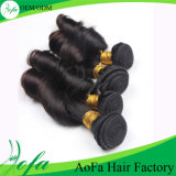 18′′--26′′ Wholesale Price Natural Indian Human Hair Weave