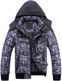 Men New Fashion Printed Winter Jacket Clothes