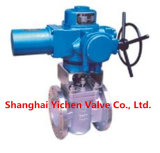 Gearbox Inverted Pressure Balance Flanged Lubricated Plug Valve (AX47W)