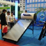 Solar Water Heating System, 150L Enamel Water Tank with Heat Exchanger