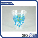 Brand Printing Disposable Plastic Orange Juice Cup