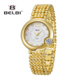 Belbi Brand Ladies Watch Fashion Casual Roman Word Shell Surface Waterproof Quartz Watch.