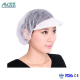 Disposable 21 Inches Nonwoven Peaked Bouffant Cap