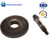 BS0160 6/43 Can Be Customized Cars Zf Gear Spiral Bevel Gear Auto Spare Parts Helical Gear