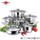 High Quality 304 Steel Advanced Cookware Set