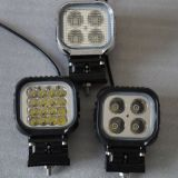 Square 48W LED Offroad Vehicle Work Lamp
