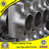 ANSI B16.9 304 316 4in Stainless Steel Reducing Tee