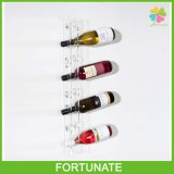 Clear Acrylic Wall Mounting Wine Rack Display Holder Organizer