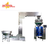 Multihead Weigher Vertical Automatic Sugar / Coffee Packaging Machinery