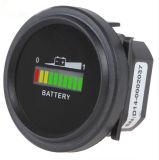 12V/24V/36V/48V/72V LED Digital Battery Status Charge Indicator with Hour Meter Gauge Black