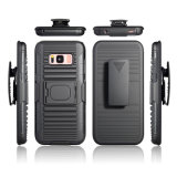 Wholesale Cell Phone Case Armor Kickstand Belt Clip Case for Samsung S8