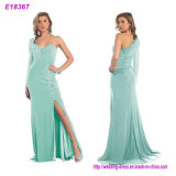 New Arrival Celebrity Black Nude Red Blue Green Long Elegant Evening Sexy Dress